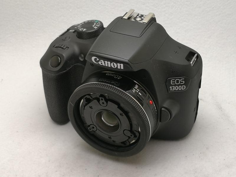 佳能1300D单反40mm  2.8定焦镜头