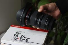 出成色不错的经典佳能16-35 f2.8 二代红圈镜头