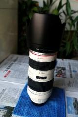 出佳能70-200 f2.8 一代镜头