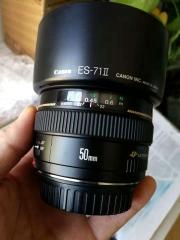 佳能50 f1.4镜头