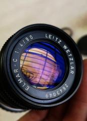 徕卡m口Leica ELMAR 90mm f4 镜头
