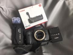Canon EOS 7D机身+BG-E7电池手柄