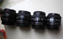 4只尼康35 F2 D镜头 999-1230包邮