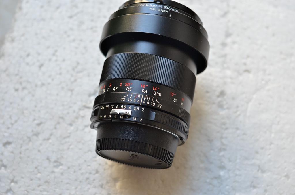 蔡司35 F2 zf 原生尼康口镜头。2450包邮