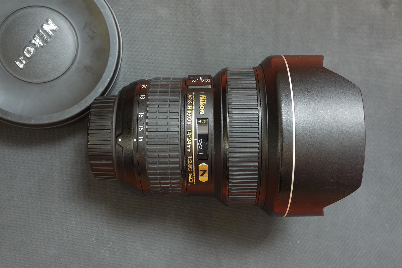 尼康NIKON AFS 14-24 2.8 G DDP 镜头