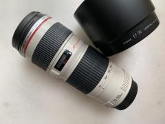 佳能 CANON EF70-200/4 L 小小白 红圈