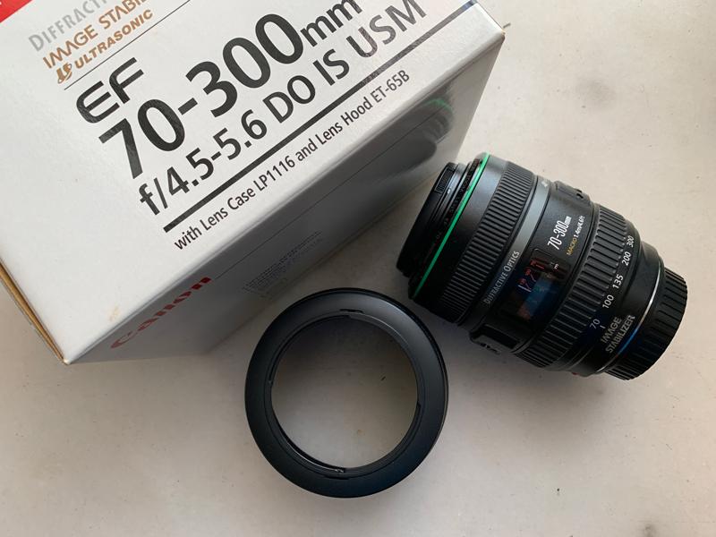佳能 小绿 Canon EF 70-300/4.5-5.6 DO IS USM