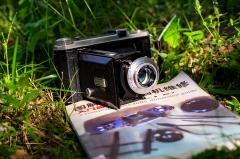 法产kodak b31 620胶片机 安琴100 4.5镜头