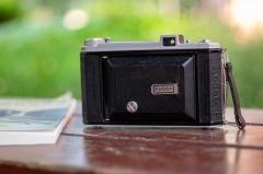 法国折叠相机kodak b31 安琴镜头100 4.5 镜头。包邮:1208元