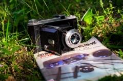 自降200,法国折叠相机kodak b31 安琴镜头100 4.5 镜头。包邮:1008元