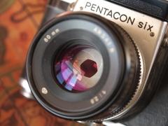 潘太康6 PENTACON SIX 80/2.8 套机 1600包邮