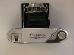 Texer SR折叠皮腔照相机!中国海鸥203-1为日本做的贴牌机 !
