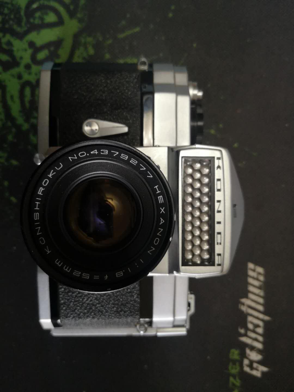 收藏珍品 柯尼卡大F相机