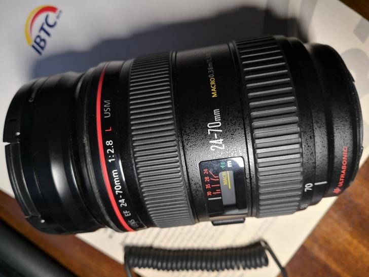 【出售闲置】佳能 canon 24-70 2.8 L f2.8
