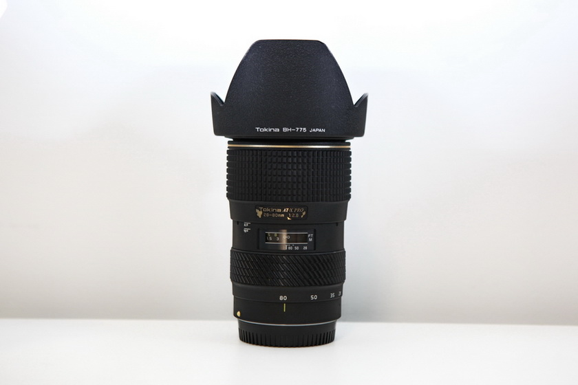 低价出 自用 佳能口 图丽 EF28-80/ F2.8 恒定 大光圈 变焦镜头