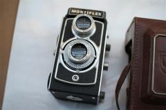 西德产 MONTIFLEX 120双反 PLUSCANAR镜头 极少见