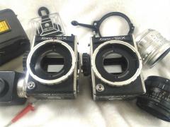 需要维护的两台KOWA SIX 科娃 中画幅相机与镜头