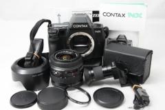 CONTAX NX 康泰时+蔡司 28-80 自动对焦 套机