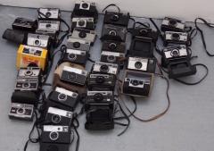 自己收藏的一批相机低价转让-开店的朋友有福了
