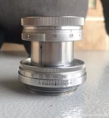 佳能l39口ltm徕卡serenar50mmf1.9镜头
