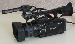 索尼 HVR-V1C 高清数码摄像机(HDV Mini DV磁带) 功能正常