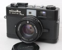 美能达 HI-MATIC 7SII 胶卷旁轴相机 功能正常 七剑 1.7大光圈