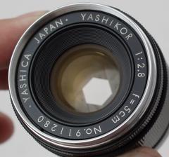 雅西卡 1:2.8 f=5cm L39口旁轴机镜头 50mm 1:2.8