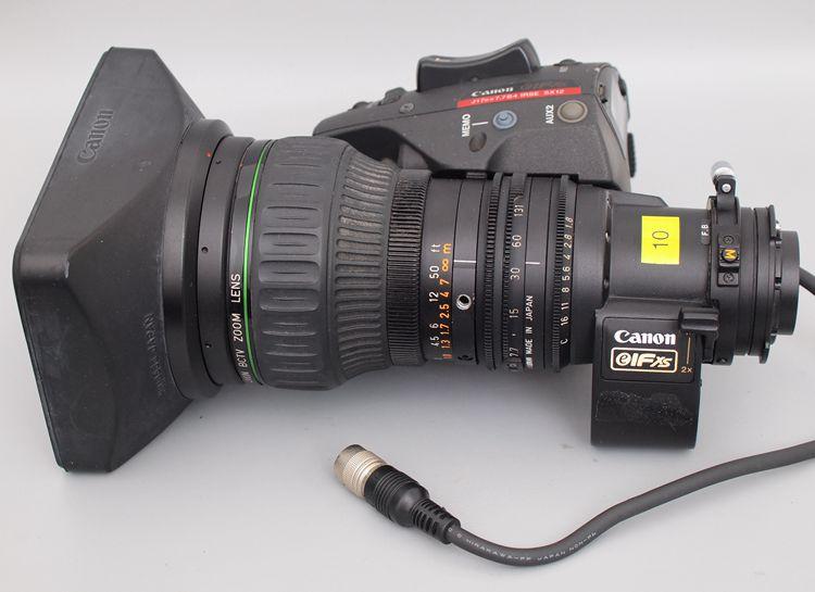 ⑩佳能 7.7-131mm 1:1.8 带2×增距覆盖M4/3广播级摄像机镜头B4口
