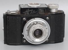 古董收藏 长江牌135胶卷相机 胶木壳相机