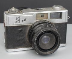 荆江 JING JIANG 351 胶卷相机 非常罕见的国产旁轴相机 古董收藏相机