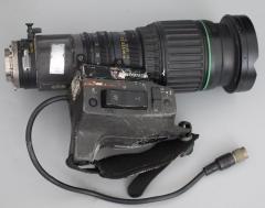 佳能 5.2-47mm 1:1.8 广播级摄像机广角镜头B4口带2×增距覆盖M4/3