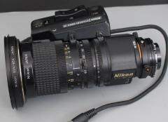尼康 8.5-127.5mm 1:1.7 广播级摄像机广角镜头B4口带2×增距覆盖M4/3