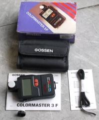 德国 高森 COLORMASTER 3F 色温表 测光表
