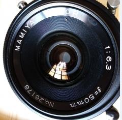 玛米亚新闻机50毫米镜头