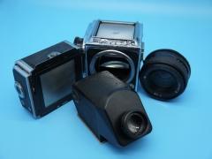 基辅KIEV88中画幅120单反相机,机身,镜头,后背,眼平取景器可套机出,也可部件单出