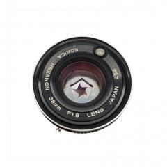 旁轴七剑 柯尼卡 KONICA C35 FD 38/1.8 镜头 已改L39口 改双光圈 1600元