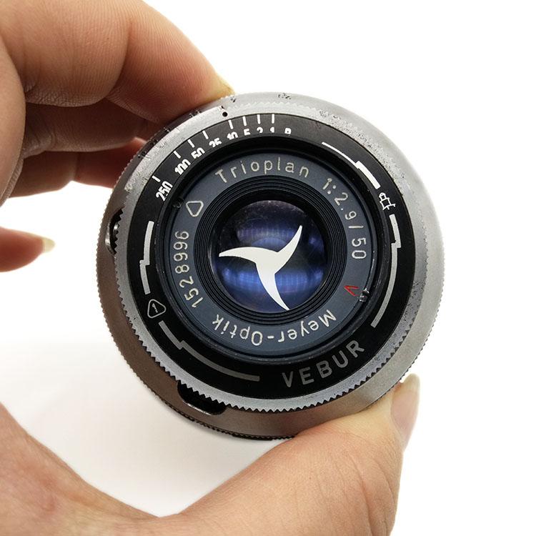 双光圈 梅耶 Meyer-Optik Trioplan 50/2.9 旁轴镜头 L39口