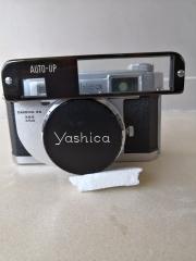 带微距镜的雅西卡35旁轴相机