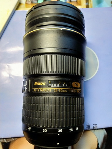 98新 尼康 AF-S 24-70 /2.8 ED 镜头