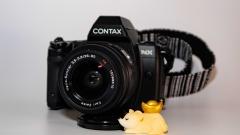 康泰时nx套机 蔡司28-80mm镜头
