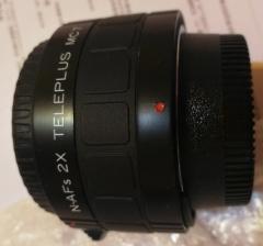 全新尼康口日本生产肯高KENKO增倍镜。N-AFs两倍增倍镜2×PLUS MC7
