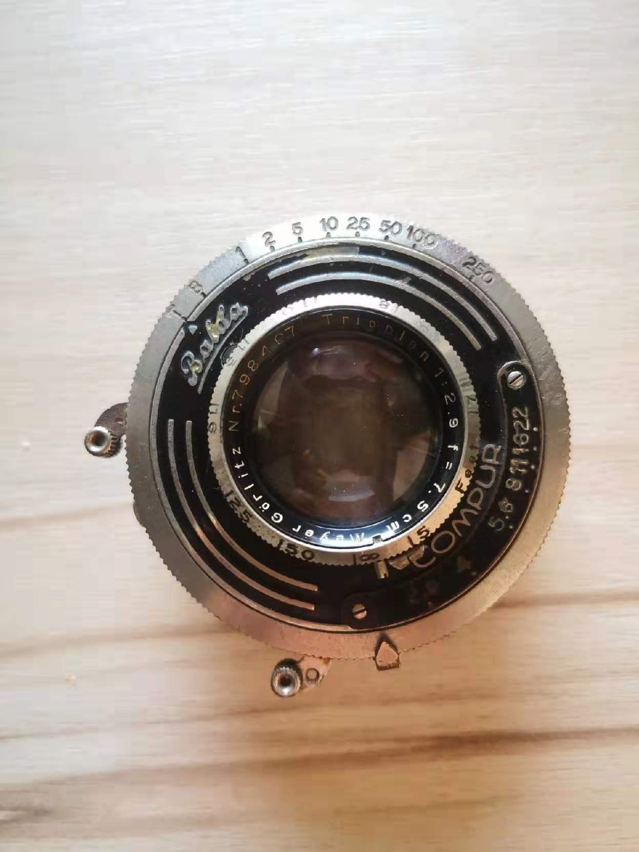梅耶meyer 75mm F2.9老镜头