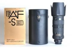 【尼康】Nikon AF-S 80-200/2.8 D ED 大钢炮 DGP 包装 皮筒