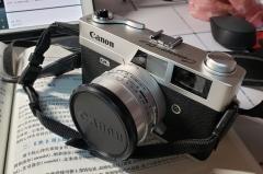 日版佳能QL17一代胶卷相机