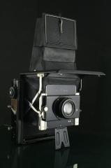 18298---罕见极品成色 Ihagee 912木质大单反相机
