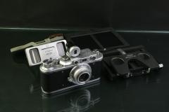 20028---罕见ZORKI左耳基立体相机套装