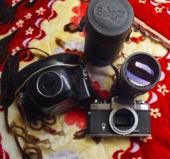 1088元蔡司 ZEISS IKON ICAREX相机套机,成色良好,原厂皮套