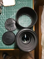 宾得 pentax 陆45 fa120mm f4微距镜头