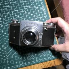 爱克山泰exakta 127中画幅相机