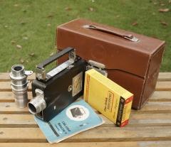 摇把16MM电影机--Cine-Kodak MAGAZINE连63/2.7和皮箱